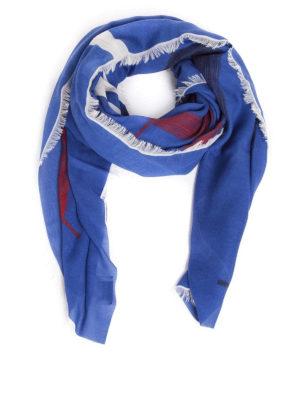 VALENTINO GARAVANI: sciarpe e foulard - Sciarpa in misto cashmere VLTN