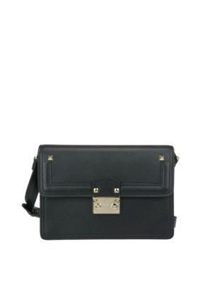 Valentino Garavani: shoulder bags - Cabana leather shoulder strap