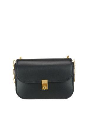Valentino Garavani: shoulder bags - Chain Link leather shoulder bag