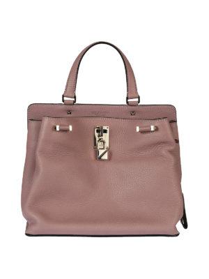 Valentino Garavani: shoulder bags - Joylock lipstick leather bag
