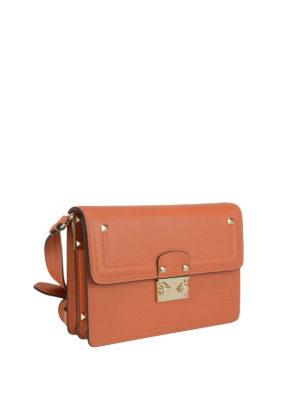 Valentino Garavani: shoulder bags online - Cabana leather shoulder strap