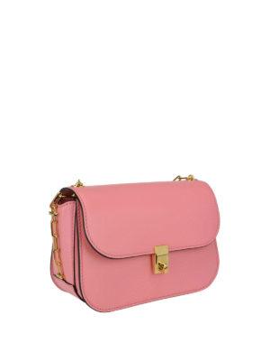 Valentino Garavani: shoulder bags online - Chain Link leather shoulder bag
