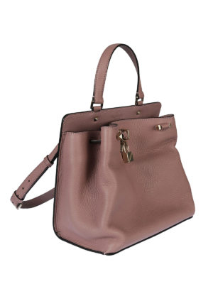 Valentino Garavani: shoulder bags online - Joylock lipstick leather bag