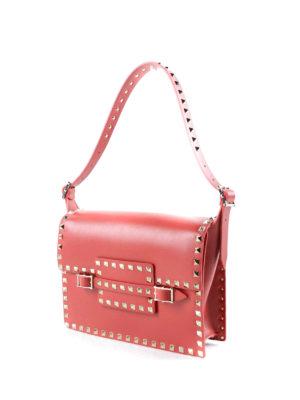 Valentino Garavani: shoulder bags online - Rockstud buckled shoulder bag