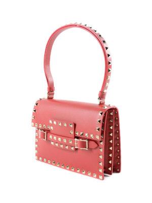 Valentino Garavani: shoulder bags online - Rockstud leather bag
