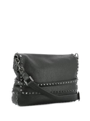 Valentino Garavani: shoulder bags online - Rockstud messenger bag