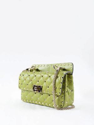 Valentino Garavani: shoulder bags online - Rockstud Spike napa bag