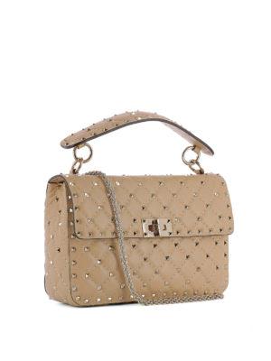 Valentino Garavani: shoulder bags online - Rockstud Spike nappa bag