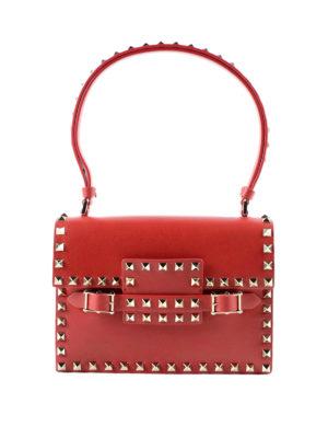 Valentino Garavani: shoulder bags - Rockstud leather bag