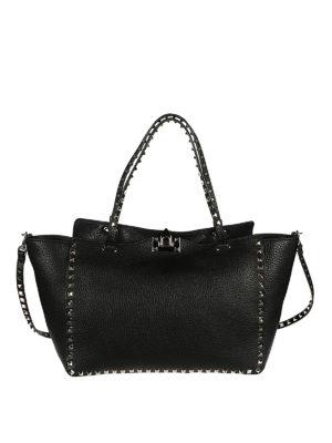 Valentino Garavani: shoulder bags - Rockstud medium shoulder bag