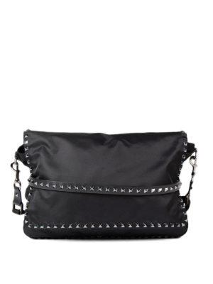 Valentino Garavani: shoulder bags - Rockstud messenger bag