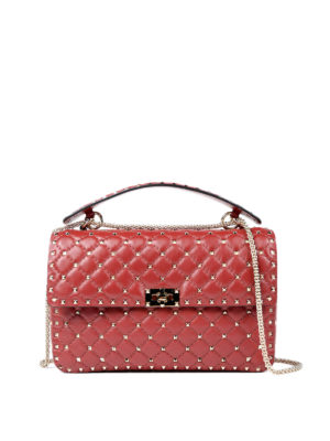 Valentino Garavani: shoulder bags - Rockstud Spike shoulder bag