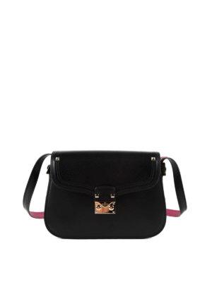 Valentino Garavani: shoulder bags - Studded leather shoulder bag