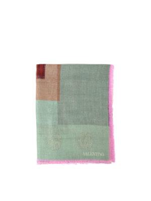 Valentino Garavani: Stoles & Shawls - Cashmere and silk lightweight shawl