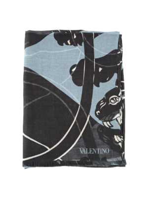 Valentino Garavani: Stoles & Shawls - Cashmere and silk stole
