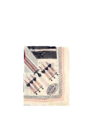 Valentino Garavani: Stoles & Shawls - Modal and silk printed shawl