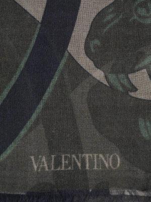 Valentino Garavani: Stoles & Shawls online - Cashmere and silk stole