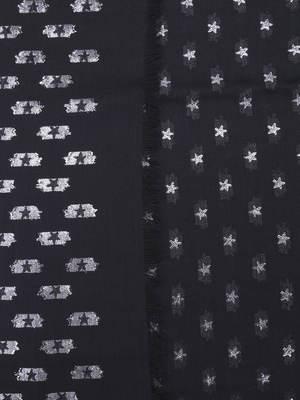 Valentino Garavani: Stoles & Shawls online - Stars print squared shawl
