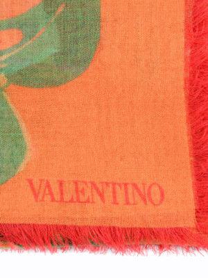 Valentino Garavani: Stoles & Shawls online - Tropical Dream print shawl