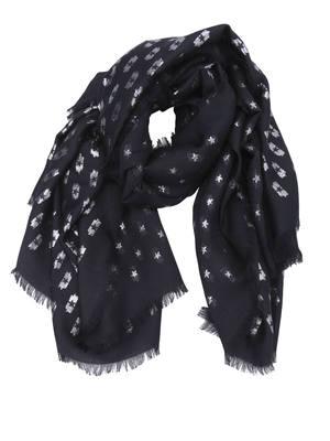 Valentino Garavani: Stoles & Shawls - Stars print squared shawl