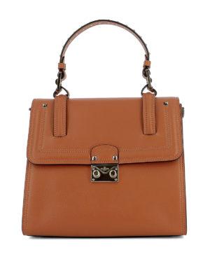 Valentino Garavani: totes bags - Cabana leather handbag