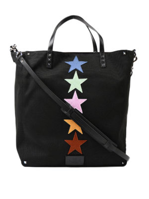 Valentino Garavani: totes bags - Jamie Reid canvas shopping bag