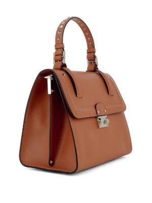 Valentino Garavani: totes bags online - Cabana leather handbag