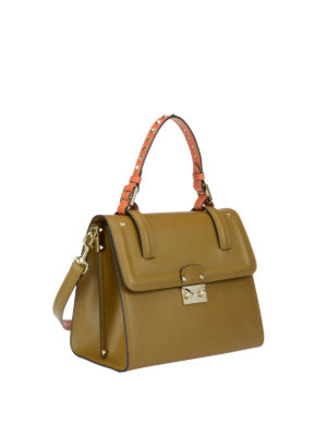 Valentino Garavani: totes bags online - Cabana leather handle bag