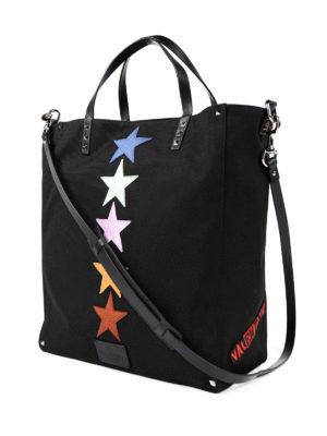 Valentino Garavani: totes bags online - Jamie Reid canvas shopping bag