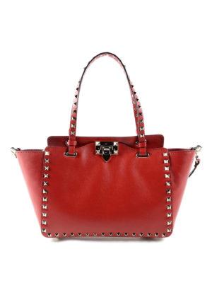 Valentino Garavani: totes bags - Rockstud small handbag