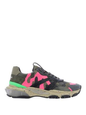 Beige Top Camouflage Primavera Ikrix Sneaker Valentino Garavani Bounce Low 9HWD2EIY