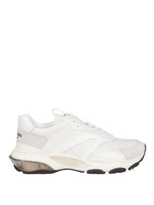 VALENTINO GARAVANI: sneakers - Sneaker Bounce in pelle