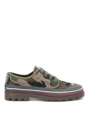 Valentino Garavani: trainers - Camu canvas sneakers