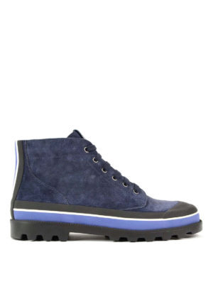 Valentino Garavani: trainers - High-top suede sneakers