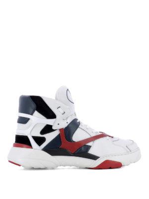 VALENTINO GARAVANI: sneakers - Sneaker Made One nappa e camoscio