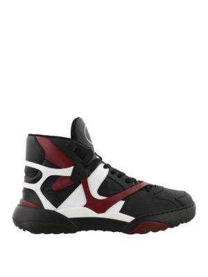 VALENTINO GARAVANI: sneakers - Sneaker Made One in nabuk e pelle