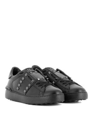 Valentino Garavani: trainers online - 11.Rockstud Untitled black sneakers