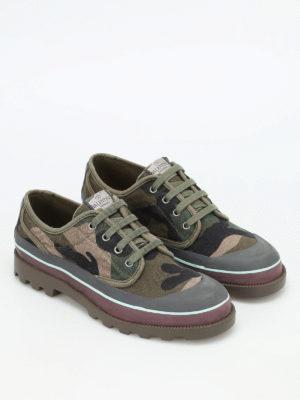 Valentino Garavani: trainers online - Camu canvas sneakers