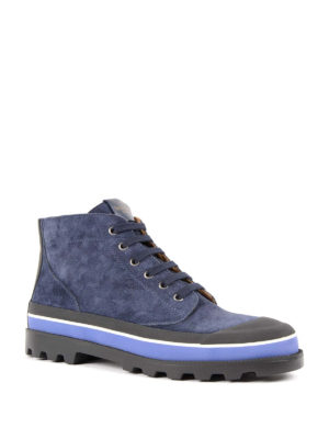 Valentino Garavani: trainers online - High-top suede sneakers