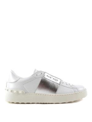 Valentino Garavani: trainers - Open leather sneakers