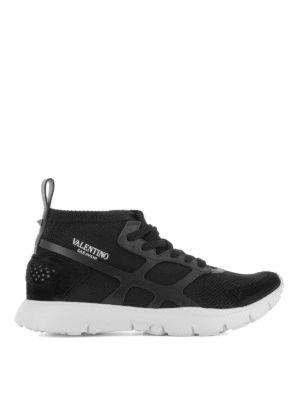 VALENTINO GARAVANI: sneakers - Sneaker nere Sound High