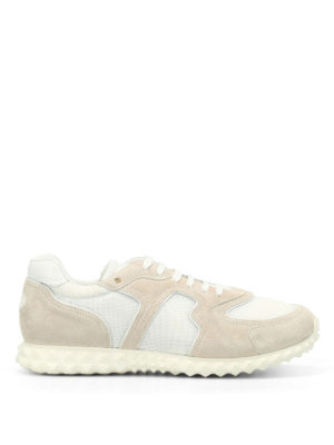 Valentino Garavani: trainers - Suede and techno mesh sneakers
