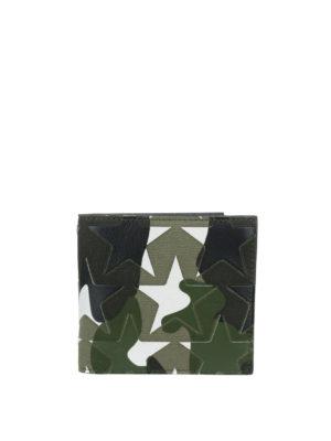 Valentino Garavani: wallets & purses - Camu star foldover wallet