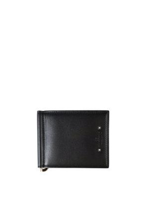 Valentino Garavani: wallets & purses - Leather money clip wallet
