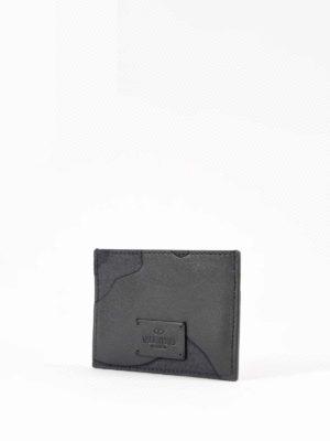 Valentino Garavani: wallets & purses online - Camouflage card case