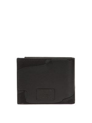 Valentino Garavani: wallets & purses online - Camu canvas and leather wallet