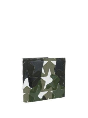 Valentino Garavani: wallets & purses online - Camu star foldover wallet