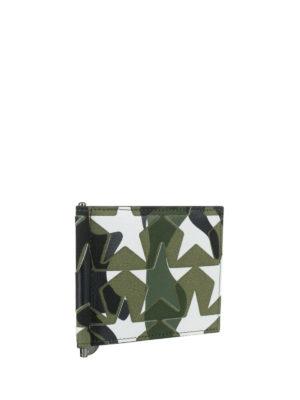 Valentino Garavani: wallets & purses online - Camu star print money clip