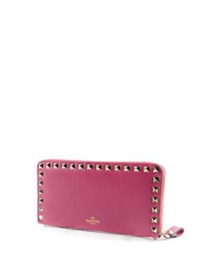 Valentino Garavani: wallets & purses online - Rockstud leather wallet
