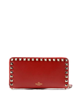 Valentino Garavani: wallets & purses - Rockstud leather wallet